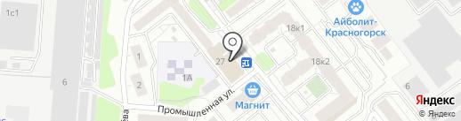 Магазин товаров для детей на карте Красногорска