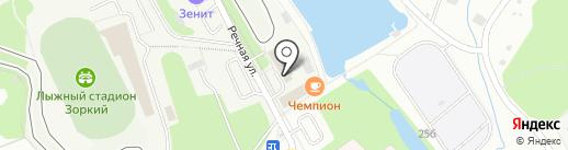 Sdv-Ski на карте Красногорска