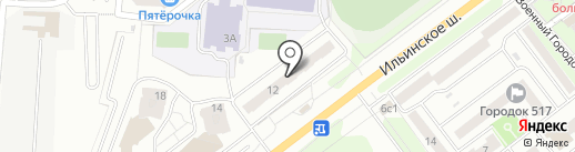 Диэрлайн на карте Красногорска