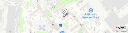 Мария на карте Красногорска