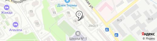 Коптев и партнеры на карте Красногорска
