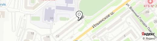 Городская библиотека №6 на карте Красногорска