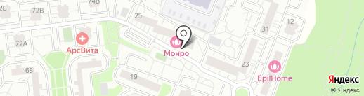Домашний на карте Одинцово