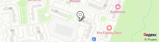 Магазин одежды на карте Одинцово