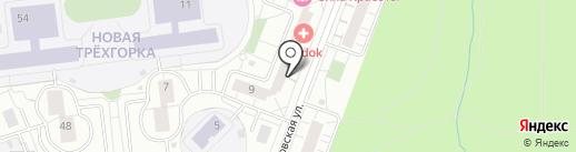 Универсал СК на карте Одинцово