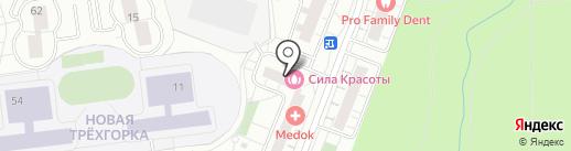 Сюзи на карте Одинцово