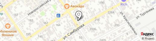 BIKE на карте Анапы