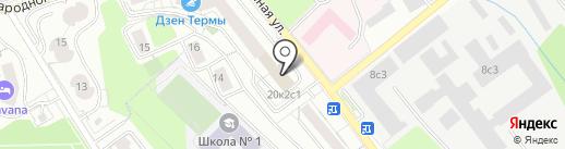 Отдел по культуре и социальным вопросам на карте Красногорска