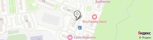 Кутузовский парк на карте Одинцово