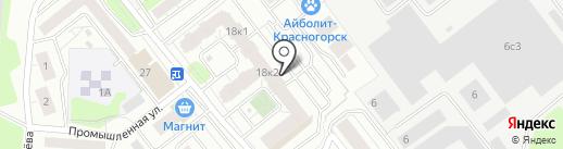 Гримерка на карте Красногорска
