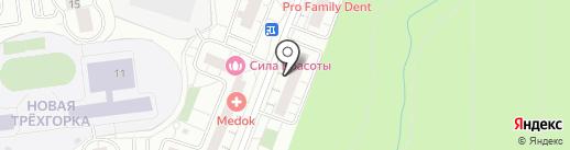 Golden Style на карте Одинцово