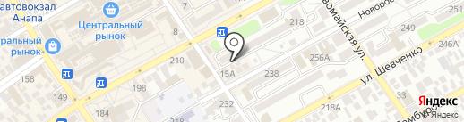 Стилист на карте Анапы