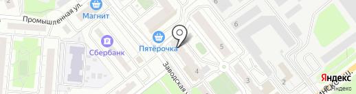 Касса по продаже авиа и железнодорожных билетов на карте Красногорска