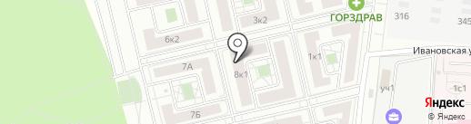 Новогорск Парк на карте Химок