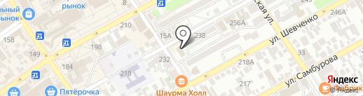 Еврообувь на карте Анапы