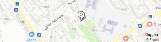 Библиотека №2 на карте Анапы