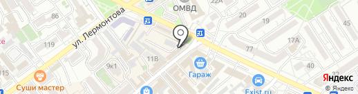 Мясной дворик на карте Анапы