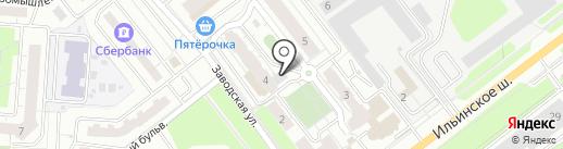 Суши-Сорро на карте Красногорска