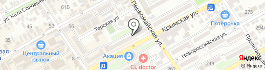 Deluxe на карте Анапы