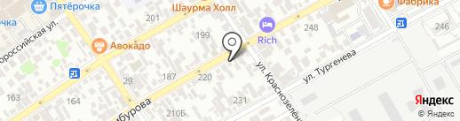 ИванСтрой на карте Анапы
