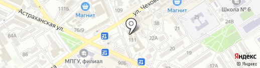 Отдел МВД России по городу-курорту Анапа на карте Анапы