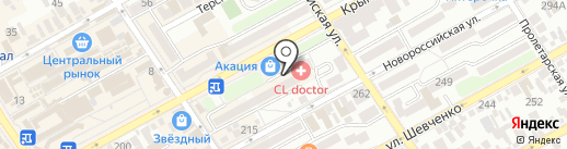 Росгосстрах, ПАО на карте Анапы