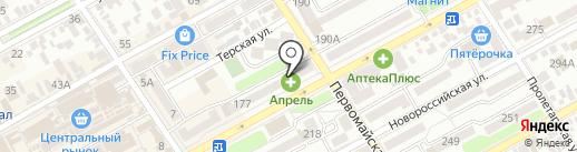 Магазин белорусской косметики на карте Анапы