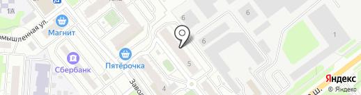 Красная горка+ на карте Красногорска