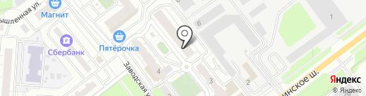 Трик на карте Красногорска