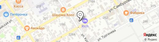 Магазин разливного пива на карте Анапы