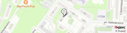 Красногорский центр занятости населения на карте Красногорска
