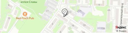 Отдел по надзору за техническим состоянием самоходных машин и других видов техники №6 на карте Красногорска