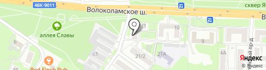 Миавто на карте Красногорска