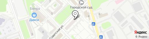 Московская областная коллегия адвокатов №88 на карте Красногорска