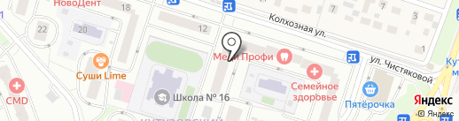 Акм-Вест на карте Одинцово