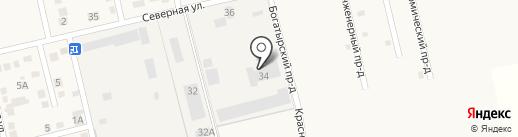 Завод строительных материалов на карте Анапы