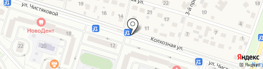 Киоск по продаже фруктов и овощей на карте Одинцово
