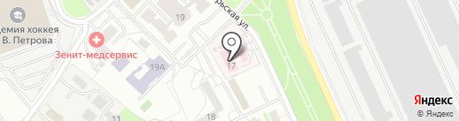 Поликлиника №3 на карте Красногорска