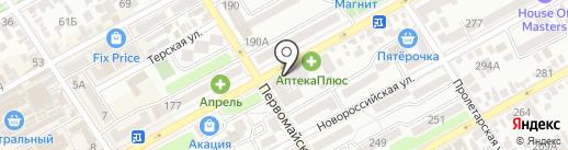 Уральский банк реконструкции и развития, ПАО на карте Анапы