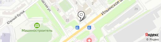 Украшарик на карте Красногорска