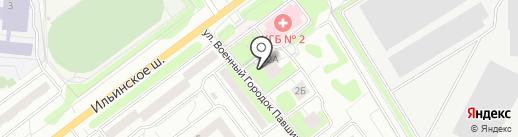 Оптика на карте Красногорска