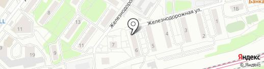 Красное & Белое на карте Красногорска