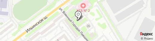 Магазин овощей и фруктов на карте Красногорска