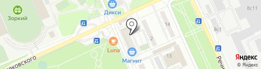 Альфа 2002 на карте Красногорска