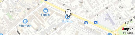 """Центр независимой экспертизы и оценки"" на карте Анапы"