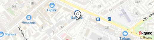 Адвокатский кабинет Беликова Д.В. на карте Анапы