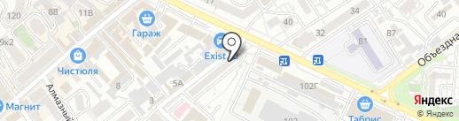 Адвокатский кабинет Миллера Д.И. на карте Анапы