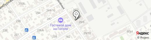 А-Студио на карте Анапы