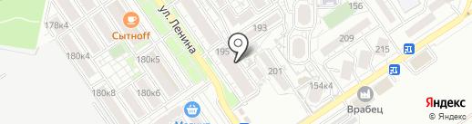 Svkomfort на карте Анапы