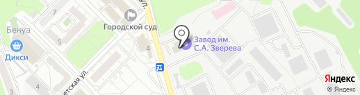 Вестпан 10 на карте Красногорска